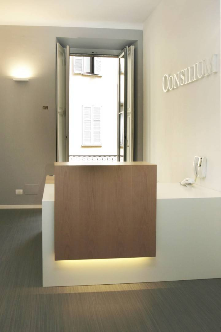 Giat Consilium Interior Office  Milan, It Milan, It Reception Area   3630