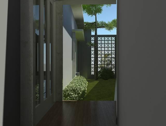 Vaastu Studio Residential Bintaro Sector I Bintaro Sector I Backyard   1260