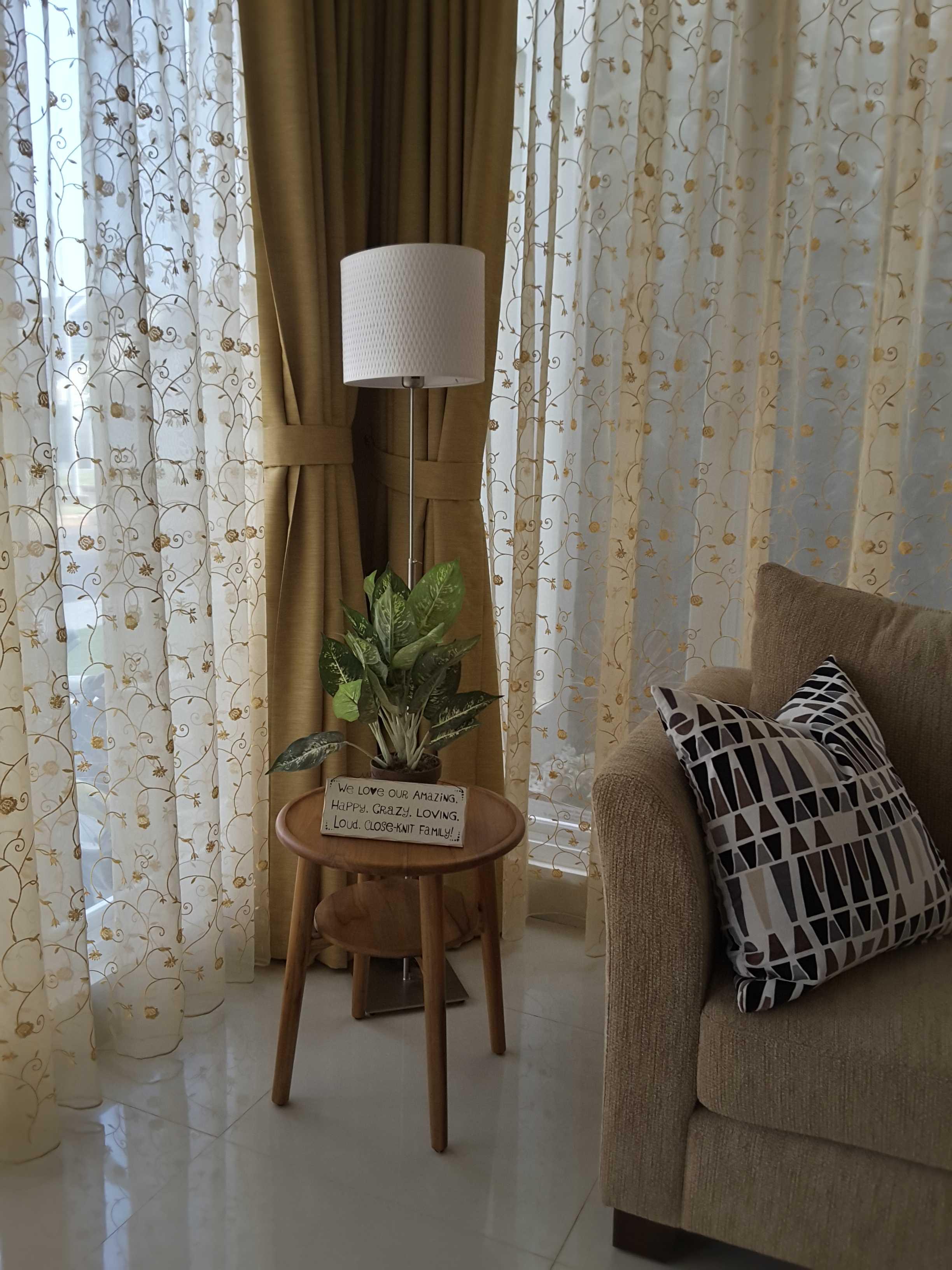 Vaastu Studio Monochrome Interior House At Tambun Bekasi Bekasi Interior - Guest Room   26504