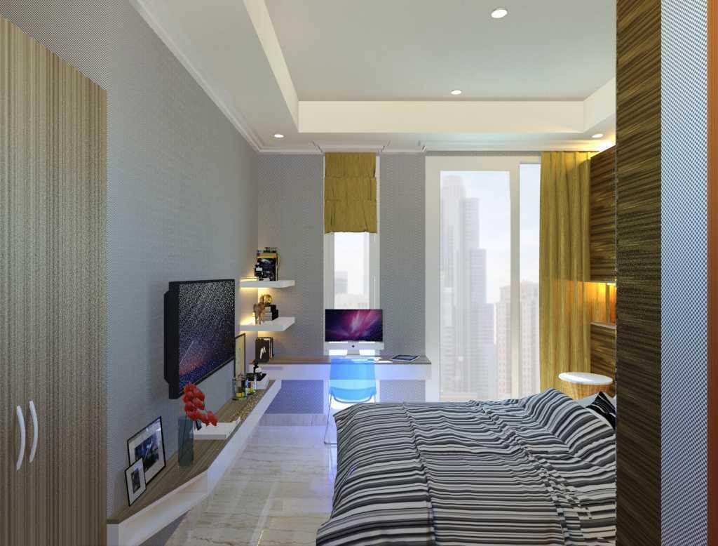 photo 03-5 desain kamar tidur tamu 1 desain arsitek oleh vaastu