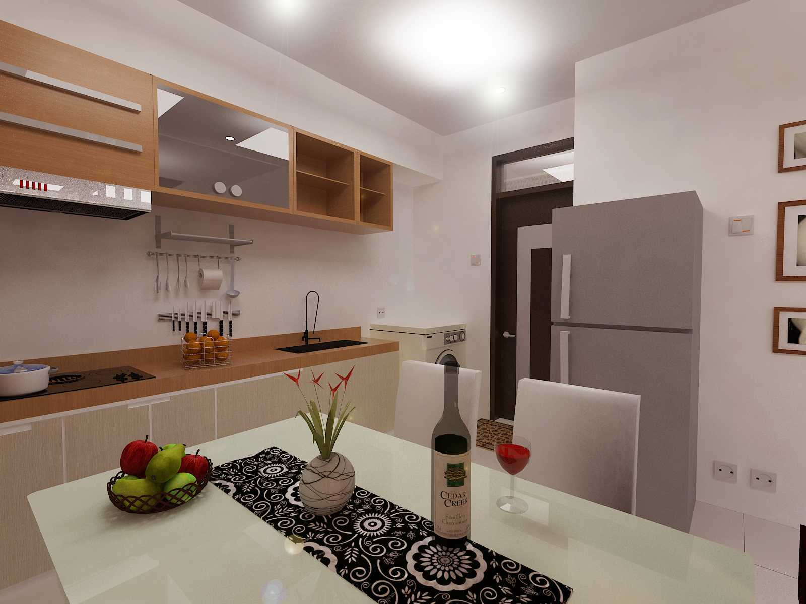 Archdesignbuild7 Rumah Minimalis Di Kopo Jl. Kopo Sayati , Bandung Jl. Kopo Sayati , Bandung Kitchen And Diningroom Minimalis  13297