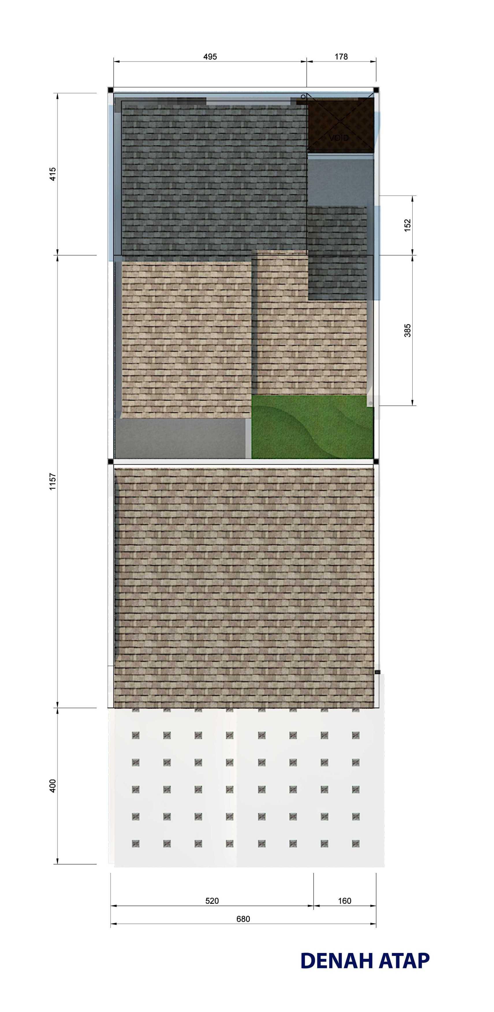 Archdesignbuild7 Project Rumah Tinggal 3 Lt Antapani , Bandung Antapani , Bandung Lt-Atap-A   13423