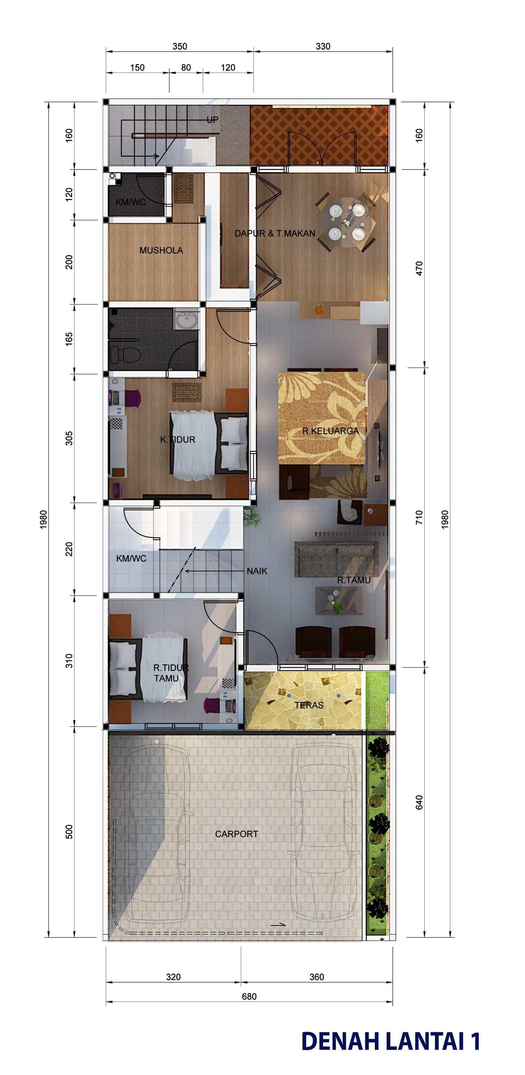Archdesignbuild7 Project Rumah Tinggal 3 Lt Antapani , Bandung Antapani , Bandung Denah   13424