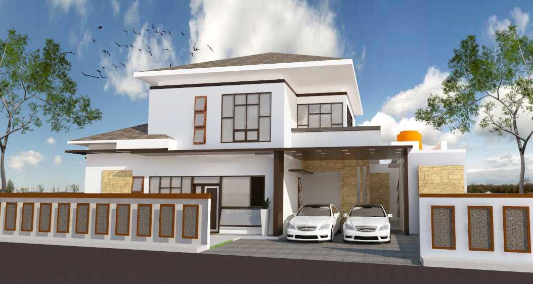 Archdesignbuild7 Project Rumah Tinggal 2 Lantai  Cimekar, Jatihandap Bandung Cimekar, Jatihandap Bandung Front View Modern  13441