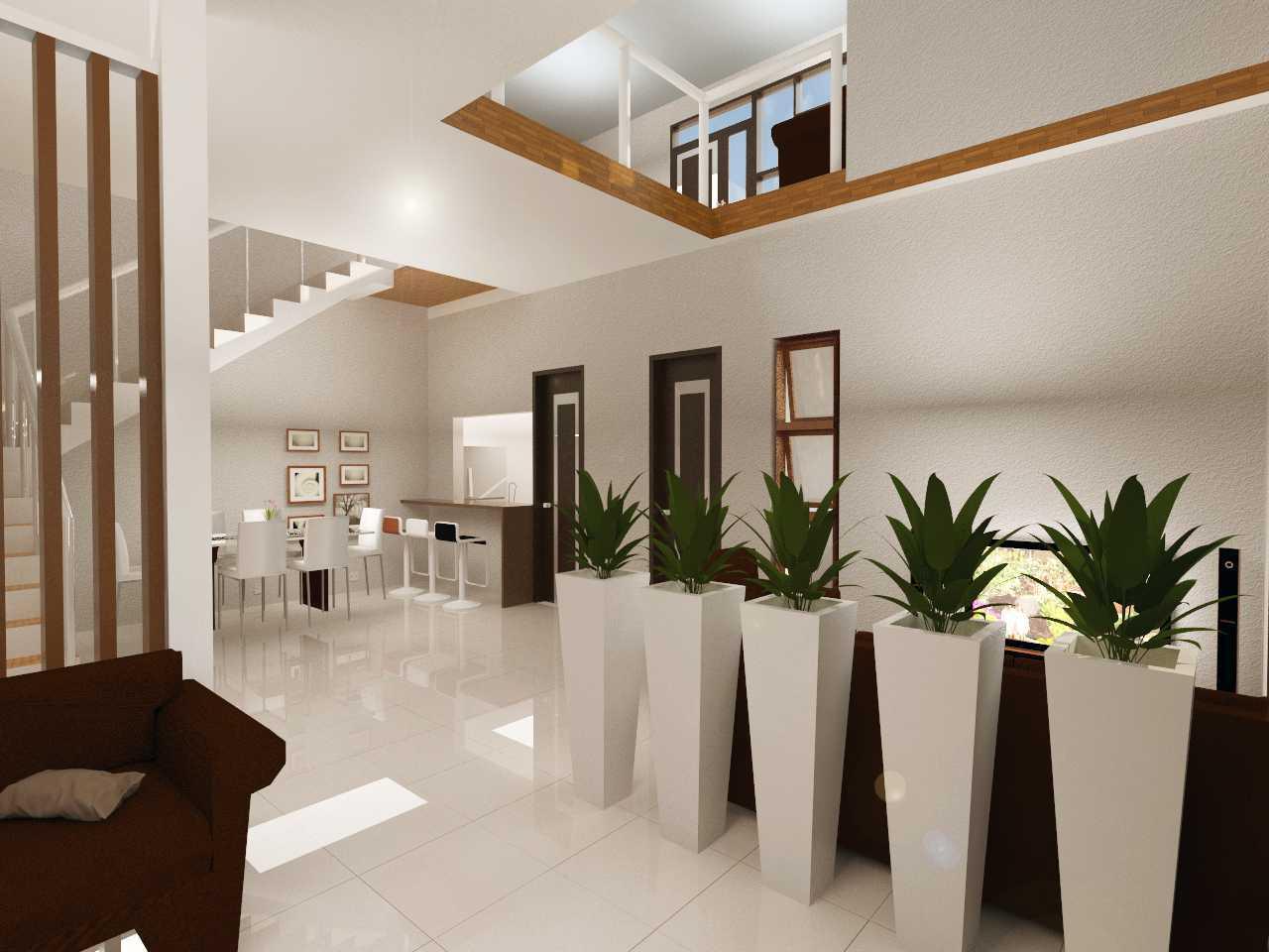 Archdesignbuild7 Project Rumah Tinggal 2 Lantai  Cimekar, Jatihandap Bandung Cimekar, Jatihandap Bandung Interior Modern  13445