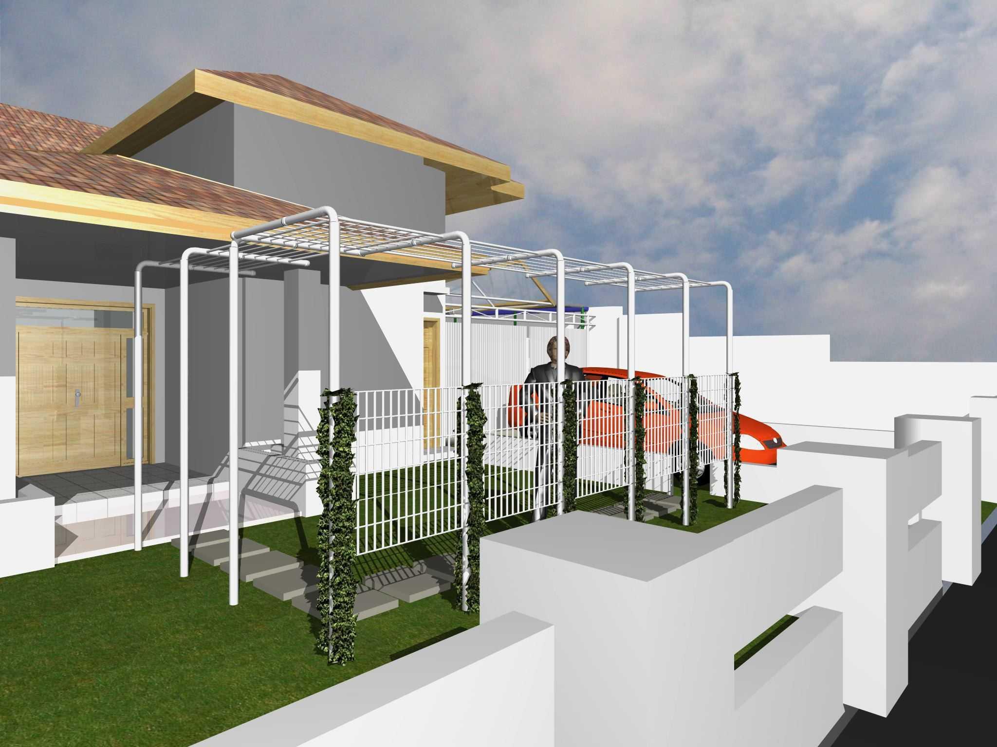 Archdesignbuild7 Project Atap Garasi Rumah Tinggal Jalan Sampoerna No 2 Bandung Jalan Sampoerna No 2 Bandung Tampak-Depan Modern  17876
