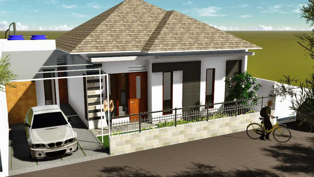 Archdesignbuild7 Rumah Tinggal Di Margahayu Jalan Mercury ,margahayu ,bandung Jalan Mercury ,margahayu ,bandung Bird Eye View Minimalis  19013