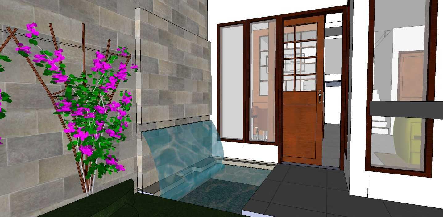 Archdesignbuild7 Rumah Tinggal Di Margahayu Jalan Mercury ,margahayu ,bandung Jalan Mercury ,margahayu ,bandung Pond Minimalis  19016