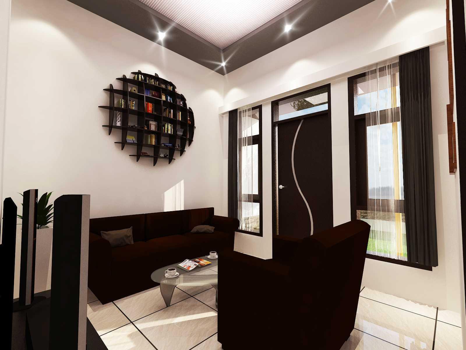 Archdesignbuild7 Rumah Tipe 36 Di Jatihandap Jatihandap, Bandung Jatihandap, Bandung Guest Room Minimalis  20127