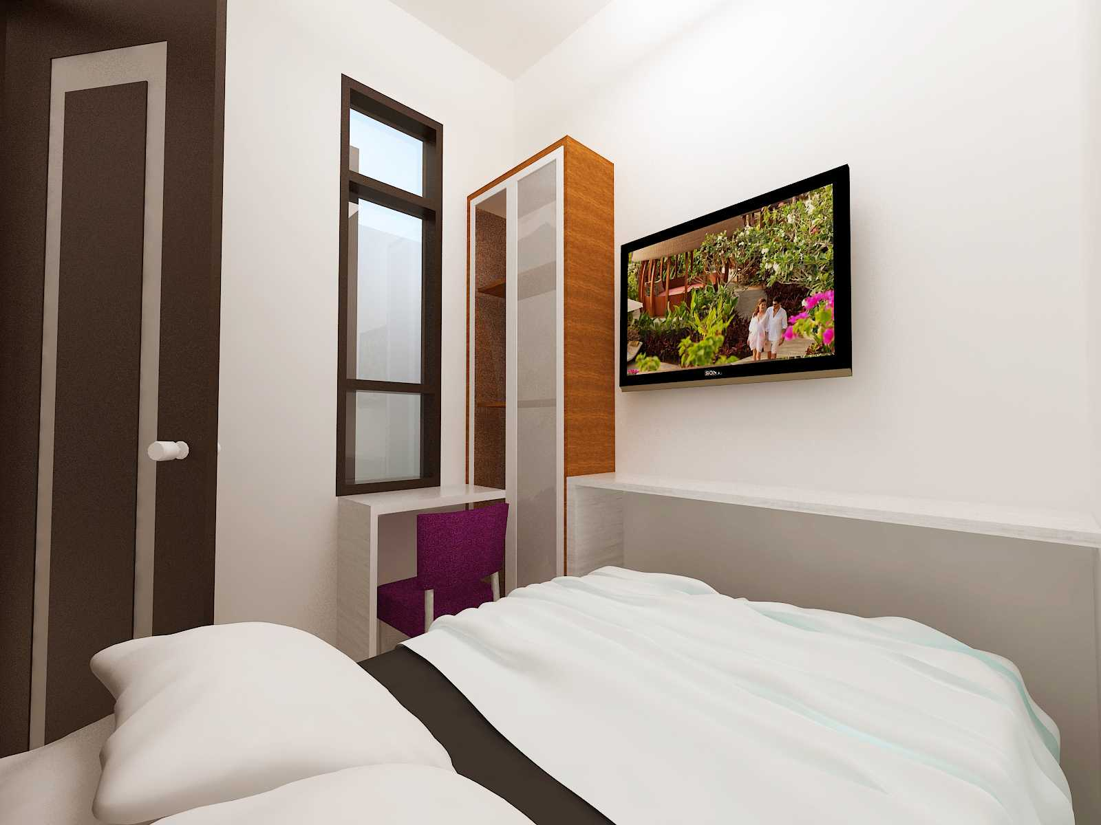 Archdesignbuild7 Rumah Tipe 36 Di Jatihandap Jatihandap, Bandung Jatihandap, Bandung Bedroom Minimalis  20132