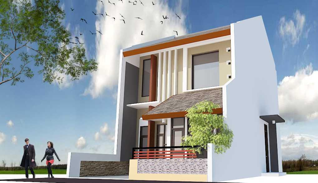 Archdesignbuild7 Rumah Tipe 36 2 Lantai Di Cimuncang Cimuncang, Bandung Cimuncang, Bandung Man Eye View Minimalis  20134