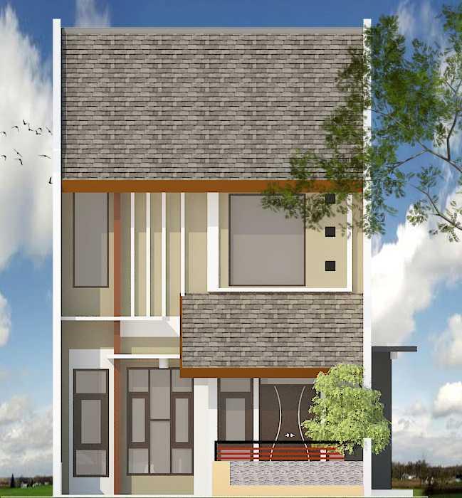 Archdesignbuild7 Rumah Tipe 36 2 Lantai Di Cimuncang Cimuncang, Bandung Cimuncang, Bandung R-1 Minimalis  20136