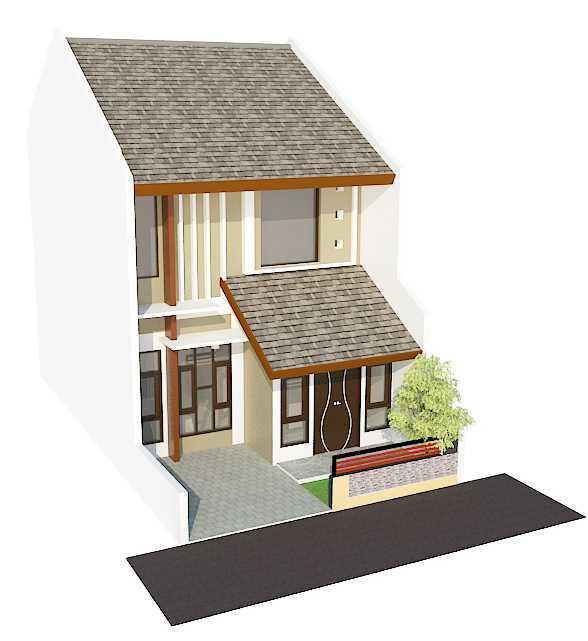 Archdesignbuild7 Rumah Tipe 36 2 Lantai Di Cimuncang Cimuncang, Bandung Cimuncang, Bandung Bird Eye View Minimalis  20138