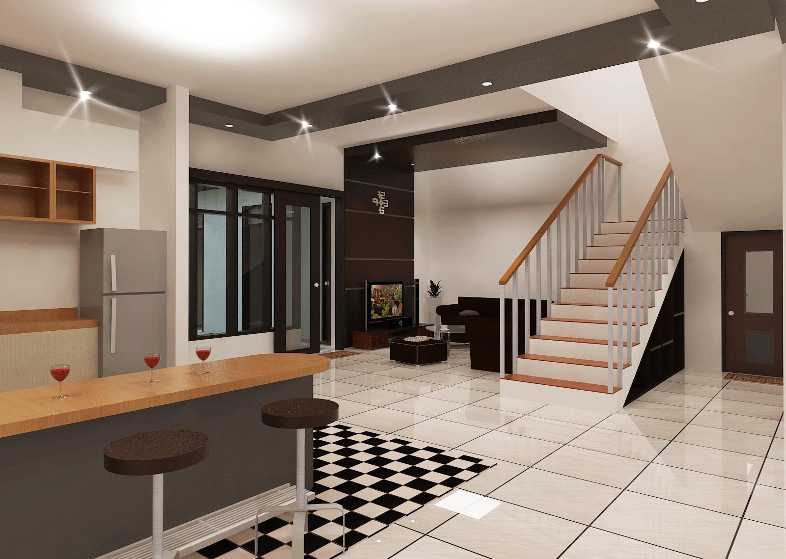 Archdesignbuild7 Rumah Tinggal 2 Lantai ( Minen )  Jl. Alfa Ii, Cigadung, Bandung Jl. Alfa Ii, Cigadung, Bandung Stairs Minimalis  20149