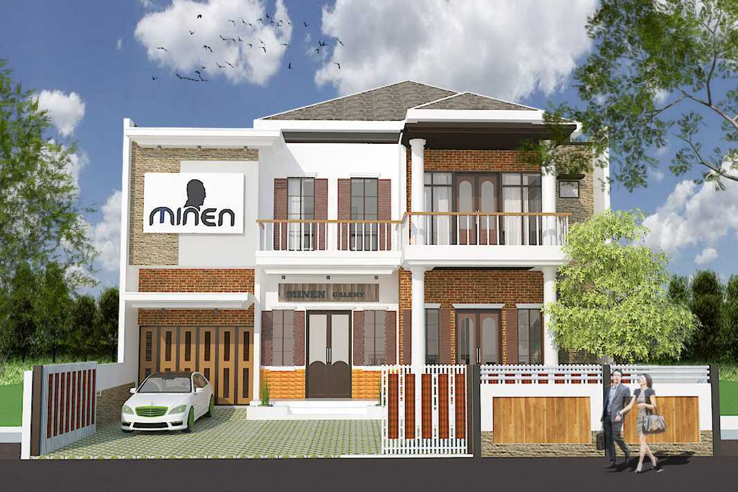Archdesignbuild7 Rumah Tinggal 2 Lantai ( Minen )  Jl. Alfa Ii, Cigadung, Bandung Jl. Alfa Ii, Cigadung, Bandung Fasade-Baru-1 Minimalis  20786