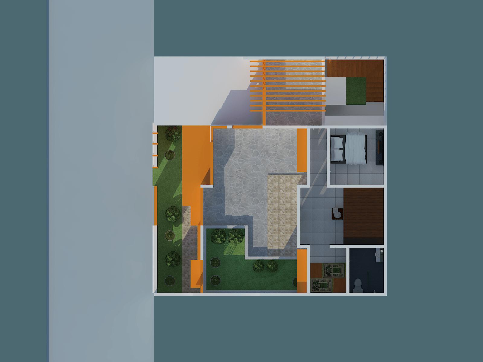 Archdesignbuild7 Project Renovasi Dan Pengembangan Rumah 2Lt Jl. Mars Sel. Ii, Manjahlega, Rancasari, Kota Bandung, Jawa Barat 40286, Indonesia  View-Mars-6   33035