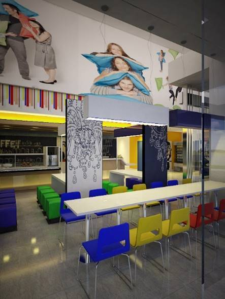 Bk Architects Ibis Budget Hotel At Karawaci Tangerang Tangerang Dining Area   1531