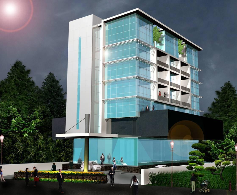 Bk Architects Arta Graha Office At Ancol Jakarta Jakarta Facade   1669