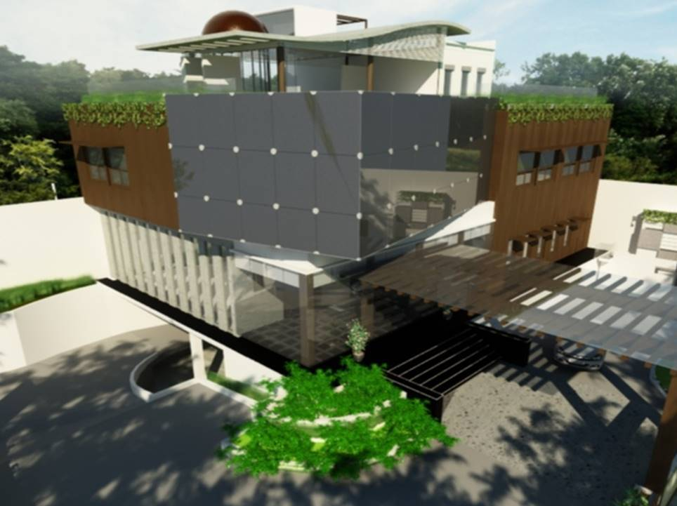 Bk Architects Office Building At Wijaya Jakarta Jakarta Facelift Kontemporer  1670
