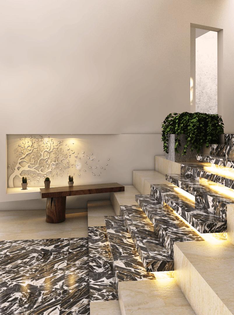 Bk Architects House At Pondok Indah Jakarta Jakarta Stairs   1719