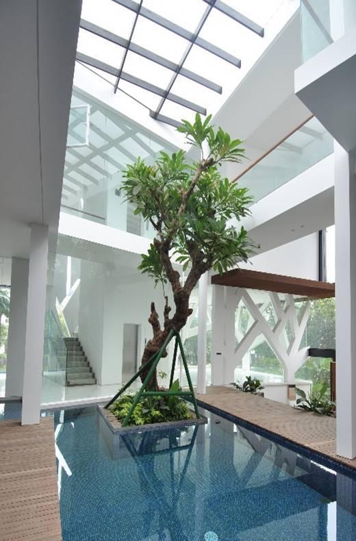 Bk Architects House At Pondok Indah Jakarta Jakarta Swimming Pool   1721