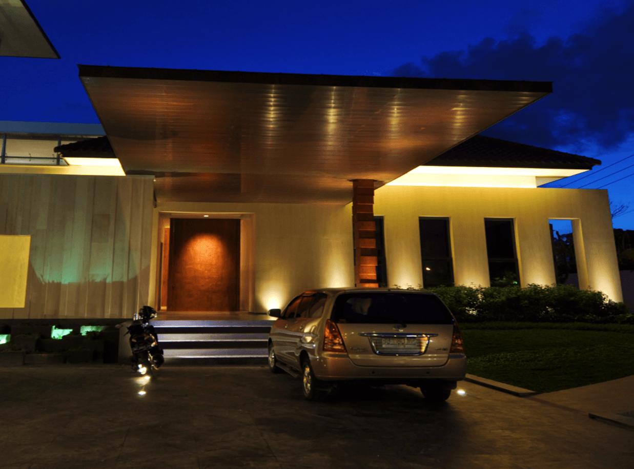 Bk Architects House At Palembang South Sumatera South Sumatera Front View Modern  1740