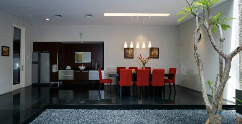 Bk Architects House At Pantai Indah Kapuk (Pik) Jakarta Jakarta Diningroom   1750