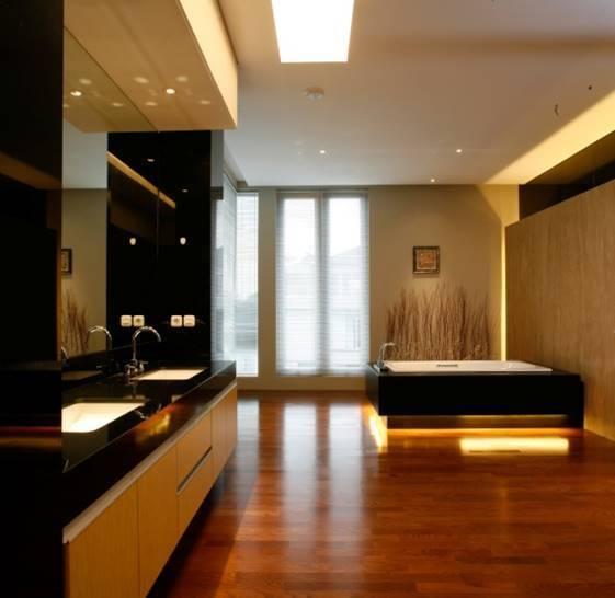 Bk Architects House At Pantai Indah Kapuk (Pik) Jakarta Jakarta Bathroom   1752