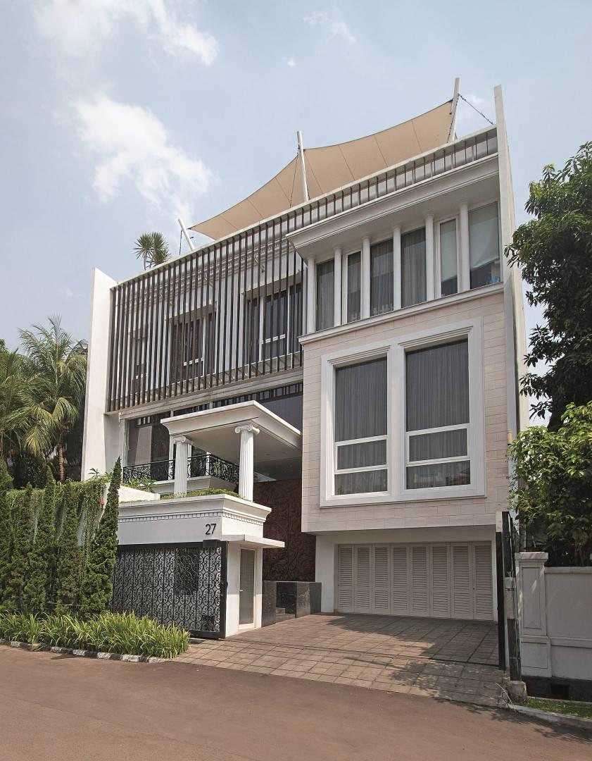 Bk Architects House At Kuningan Jakarta Jakarta Facade Klasik  1762