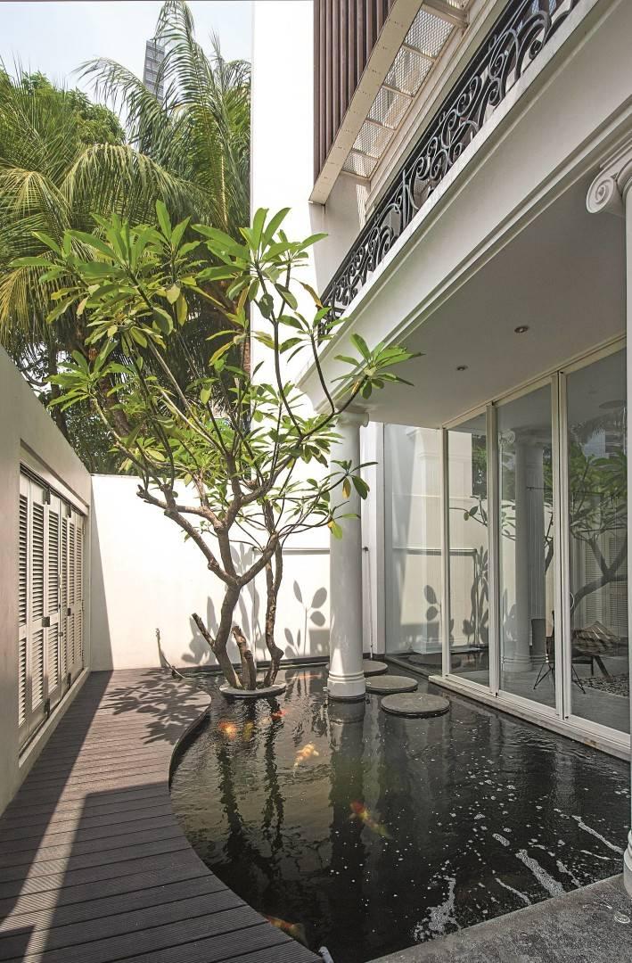 Bk Architects House At Kuningan Jakarta Jakarta Pond Klasik  1765