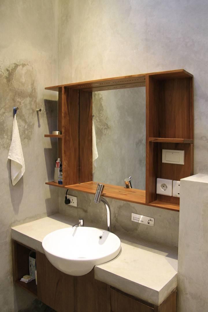 Raw Architecture Bare Minimalist Jakarta, Indonesia Jakarta, Indonesia Bathroom   1551