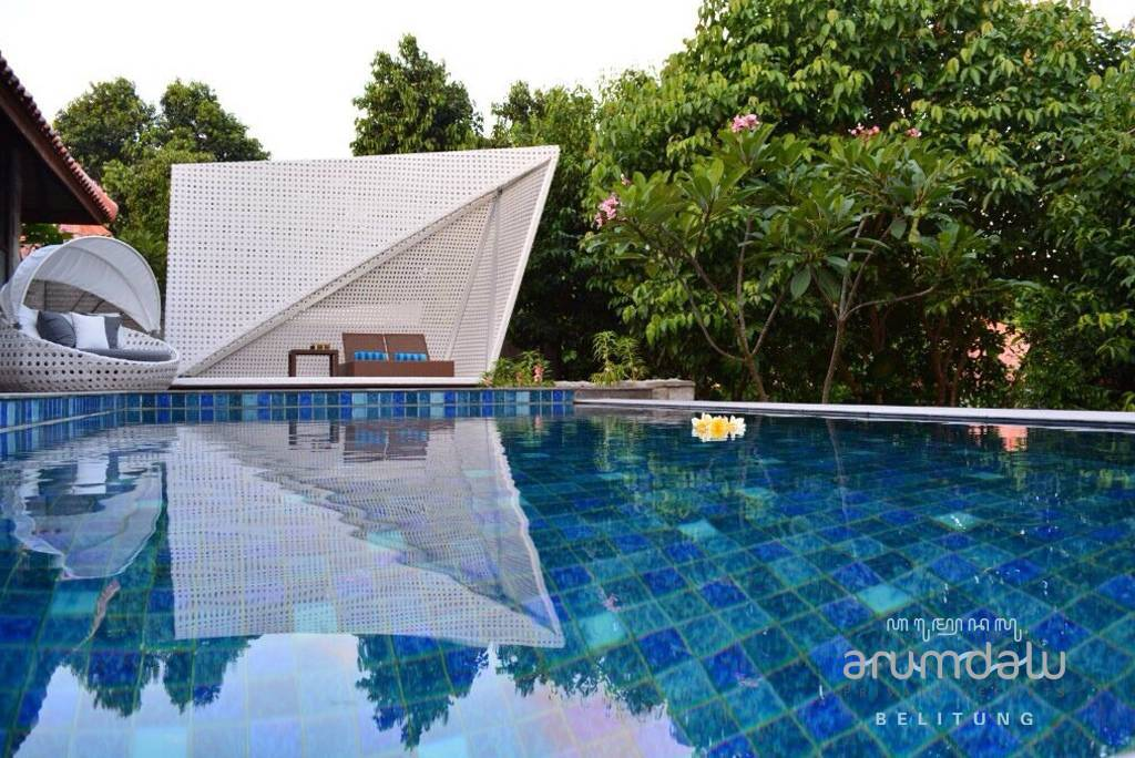 Raw Architecture Arumdalu Belitung Belitung Swimming Pool Area Tropis  1623