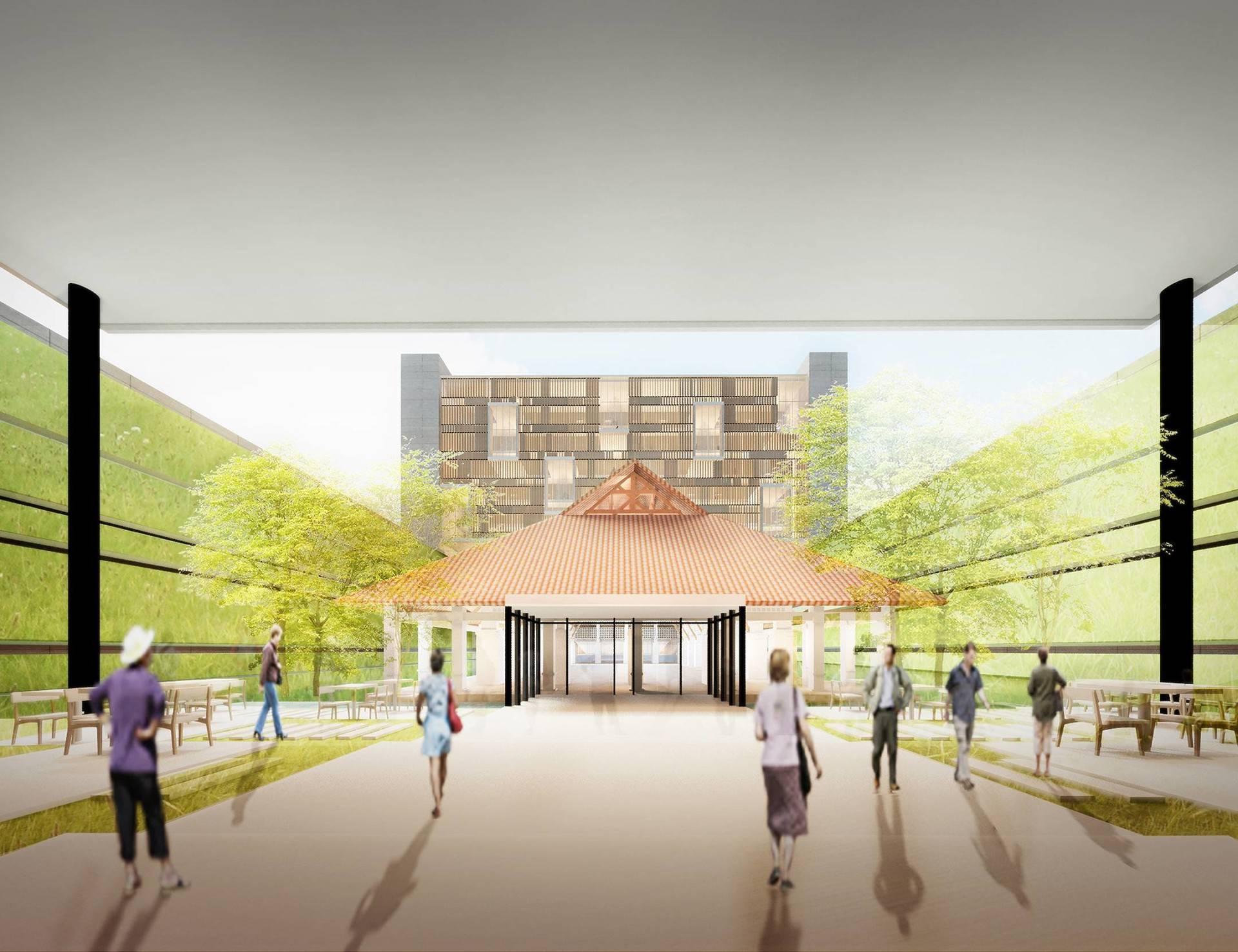 Raw Architecture Galeri Nasional  Jakarta, Indonesia Jakarta, Indonesia Front Entrance   1652