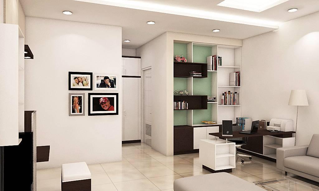 Independent Interior Design & Build Residential Bedroom At Ancol  Jakarta Jakarta Bedroom - Study/work Area Kontemporer  1828