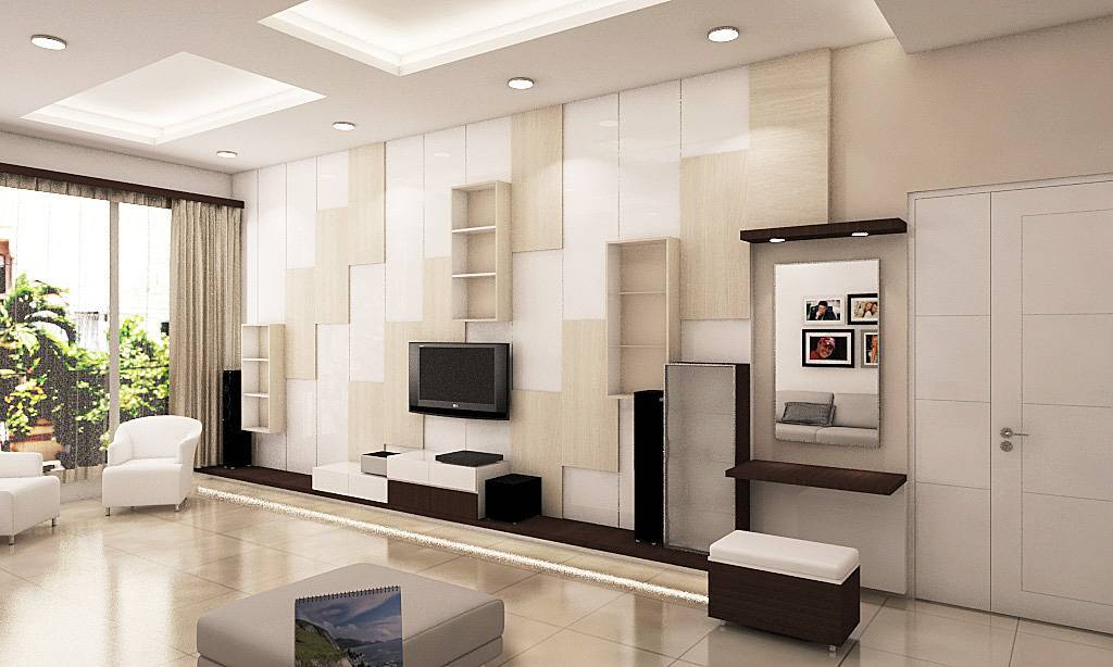 Independent Interior Design & Build Residential Bedroom At Ancol  Jakarta Jakarta Bedroom - Tv Area Kontemporer  1829