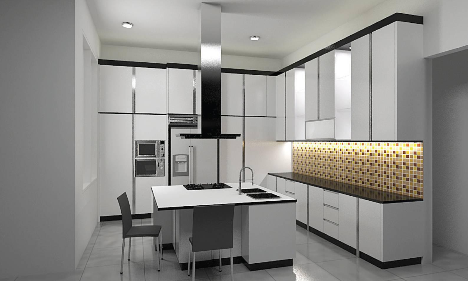Independent Interior Design & Build Residential Kitchen Jakarta Jakarta Kitchen Modern  1839