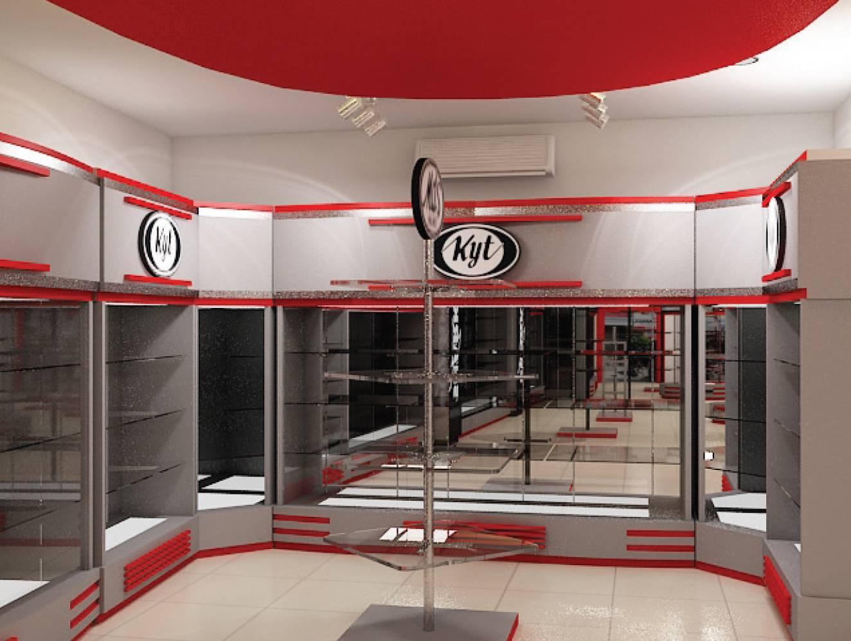 Independent Interior Design & Build Retail Helmet Gallery Jakarta Jakarta Ritel-Gallery Modern  1854