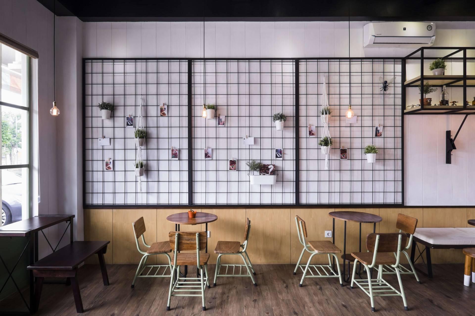 Bitte Design Studio Voyage Coffee At Gading Serpong  Tangerang, Indonesia Tangerang, Indonesia Voyage Coffee Seating Area   2018
