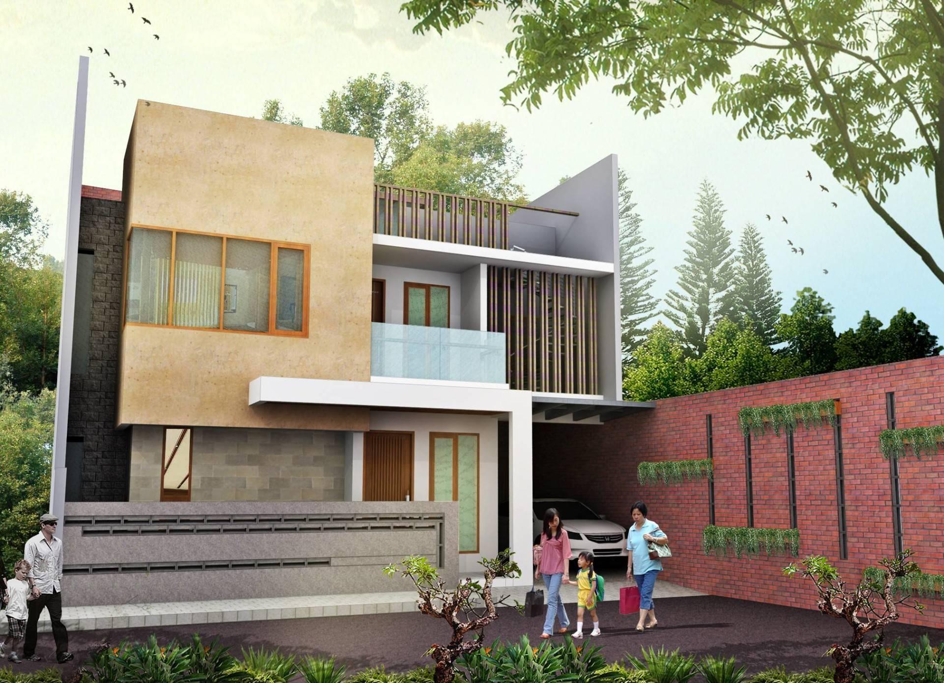 An+ Rumah Depok Depok, Jawa Barat Depok, Jawa Barat Front View Modern  3997