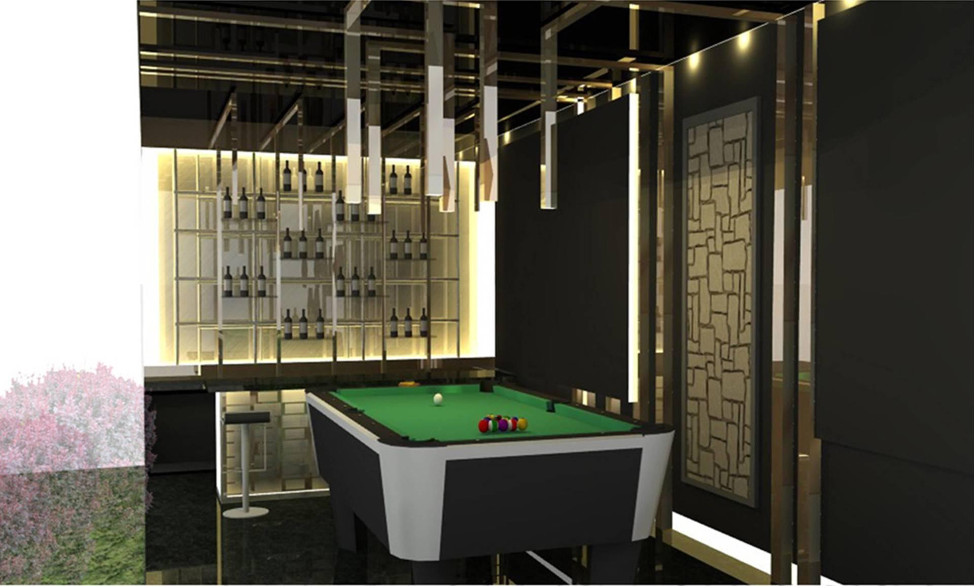 Tms Creative Sunter Residence Sunter Agung Jakarta Jakarta Billiard Area Modern  2135