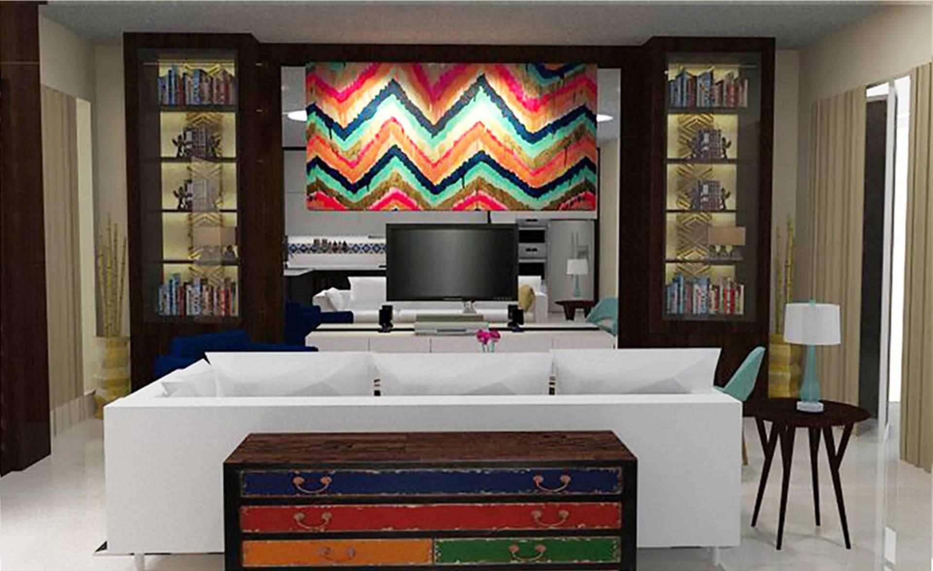 Tms Creative Royale Hills Puri Mutiara Kemang, South Jakarta Puri Mutiara Kemang, South Jakarta Living Room Kontemporer  2159