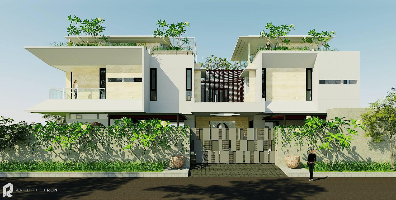 Architectron Mayang Permai House At Pik North Jakarta North Jakarta Facade Tropis  2040