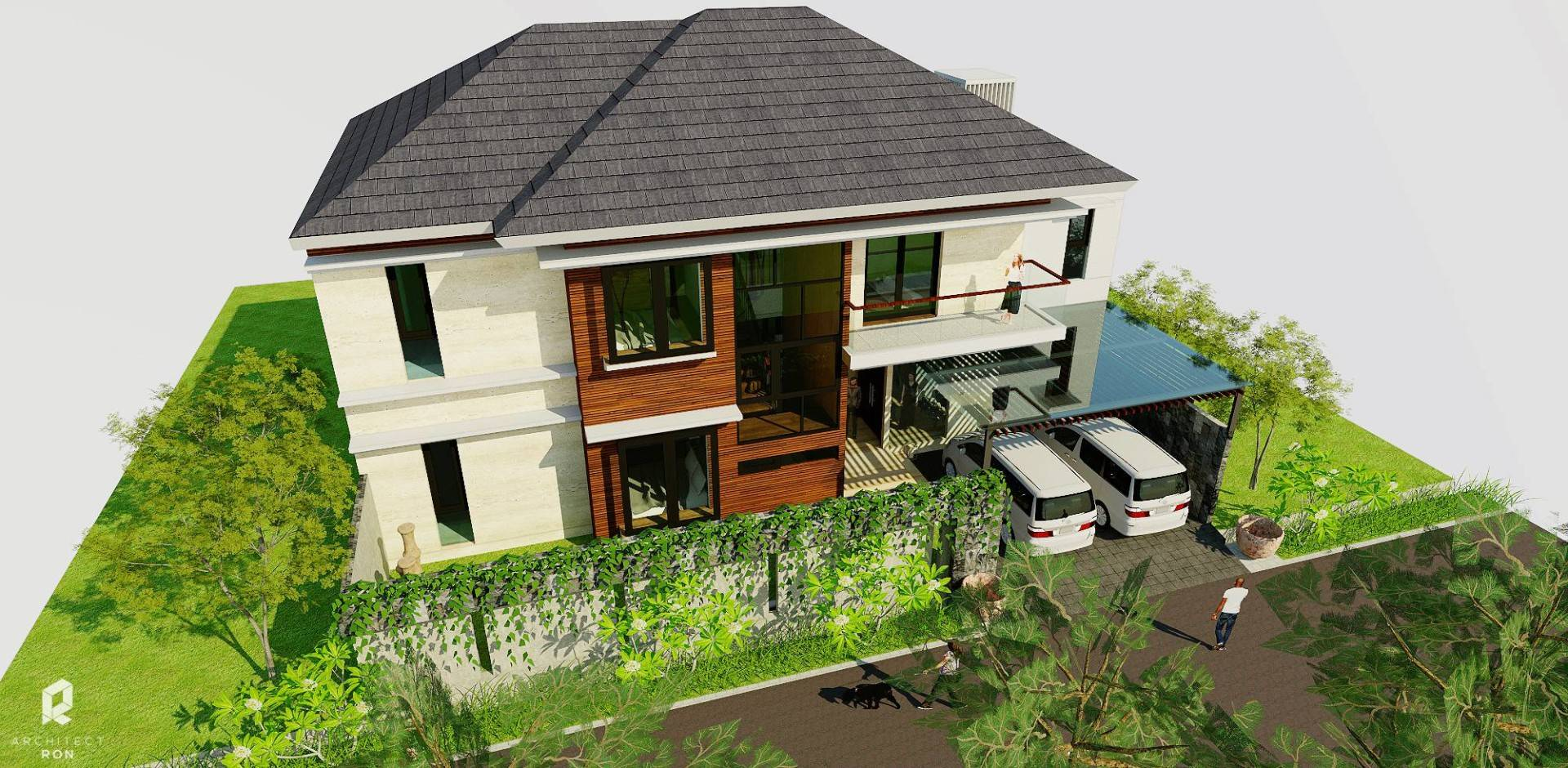 Architectron Dp House At Pekalongan Middle Java Middle Java Front View   2046