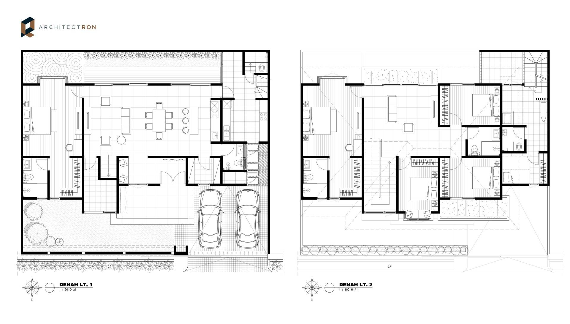 Architectron Dp House At Pekalongan Middle Java Middle Java Site Plan   2047