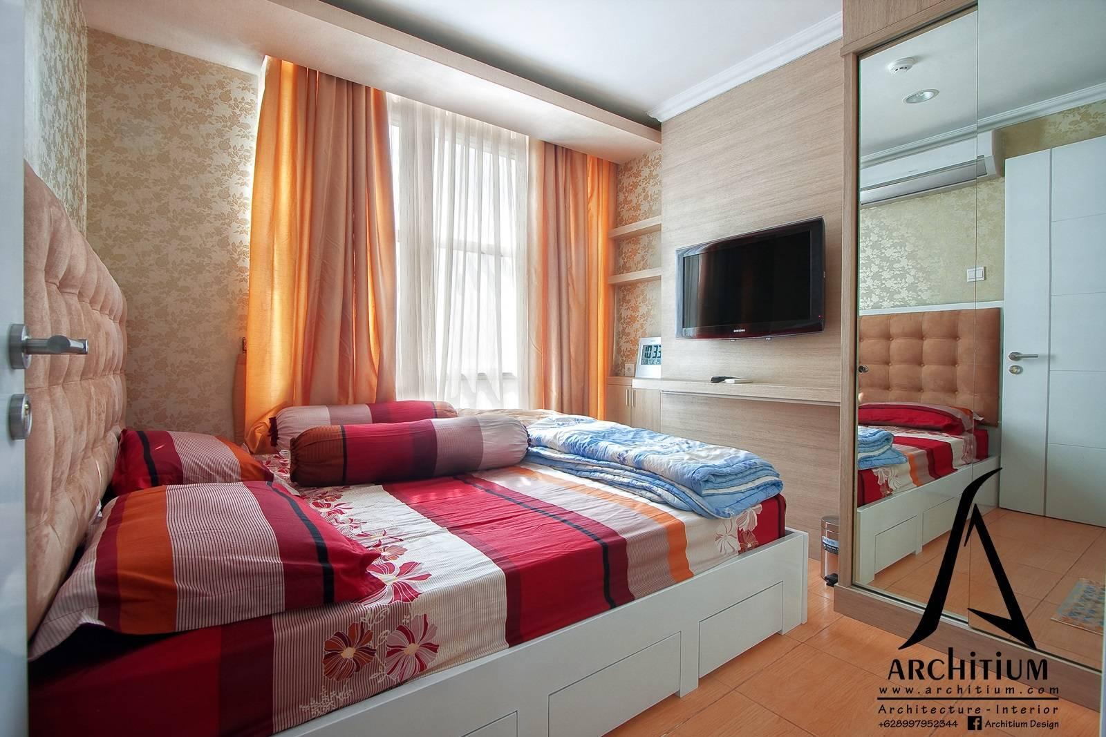 Architium Design Apartment At Pluit Jakarta Jakarta Apartment-Bedroom   2260