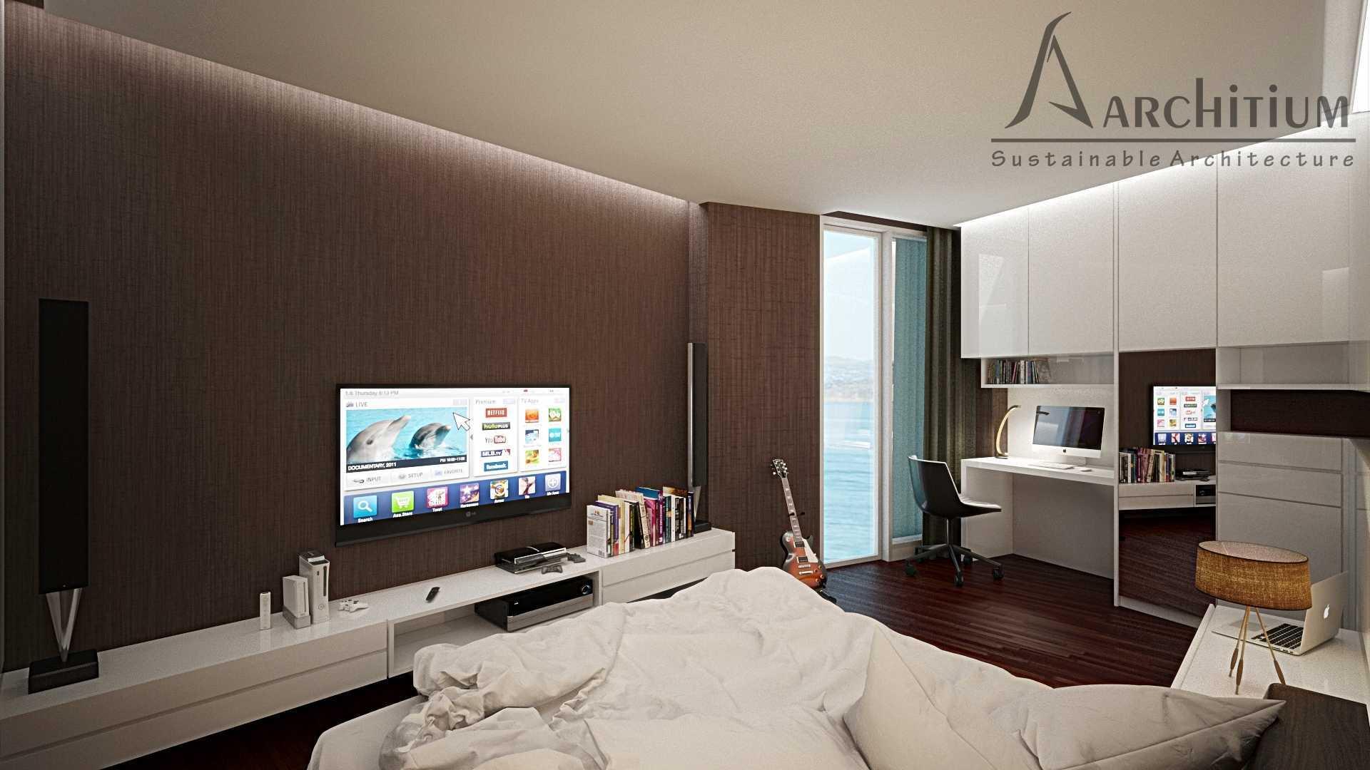 Architium Design Penthouse At Regatta Apartment Regatta Apartment, Jakarta Regatta Apartment, Jakarta Bedroom-A-1 Minimalis,wood  27416