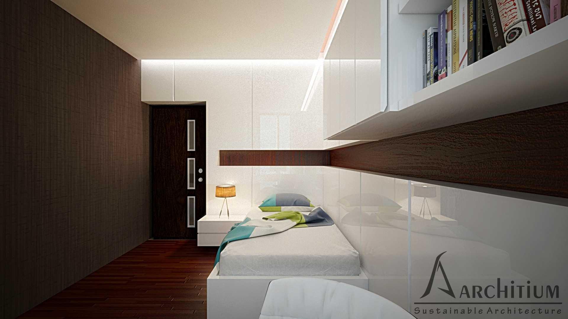 Architium Design Penthouse At Regatta Apartment Regatta Apartment, Jakarta Regatta Apartment, Jakarta Bedroom-B-1 Minimalis  27417