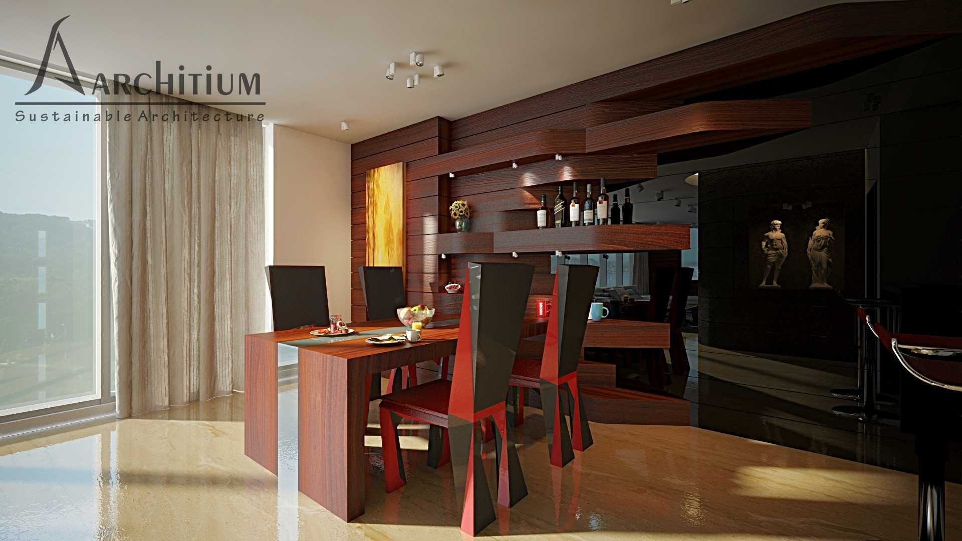 Architium Design Penthouse At Regatta Apartment Regatta Apartment, Jakarta Regatta Apartment, Jakarta Living-Dining Minimalis  27419