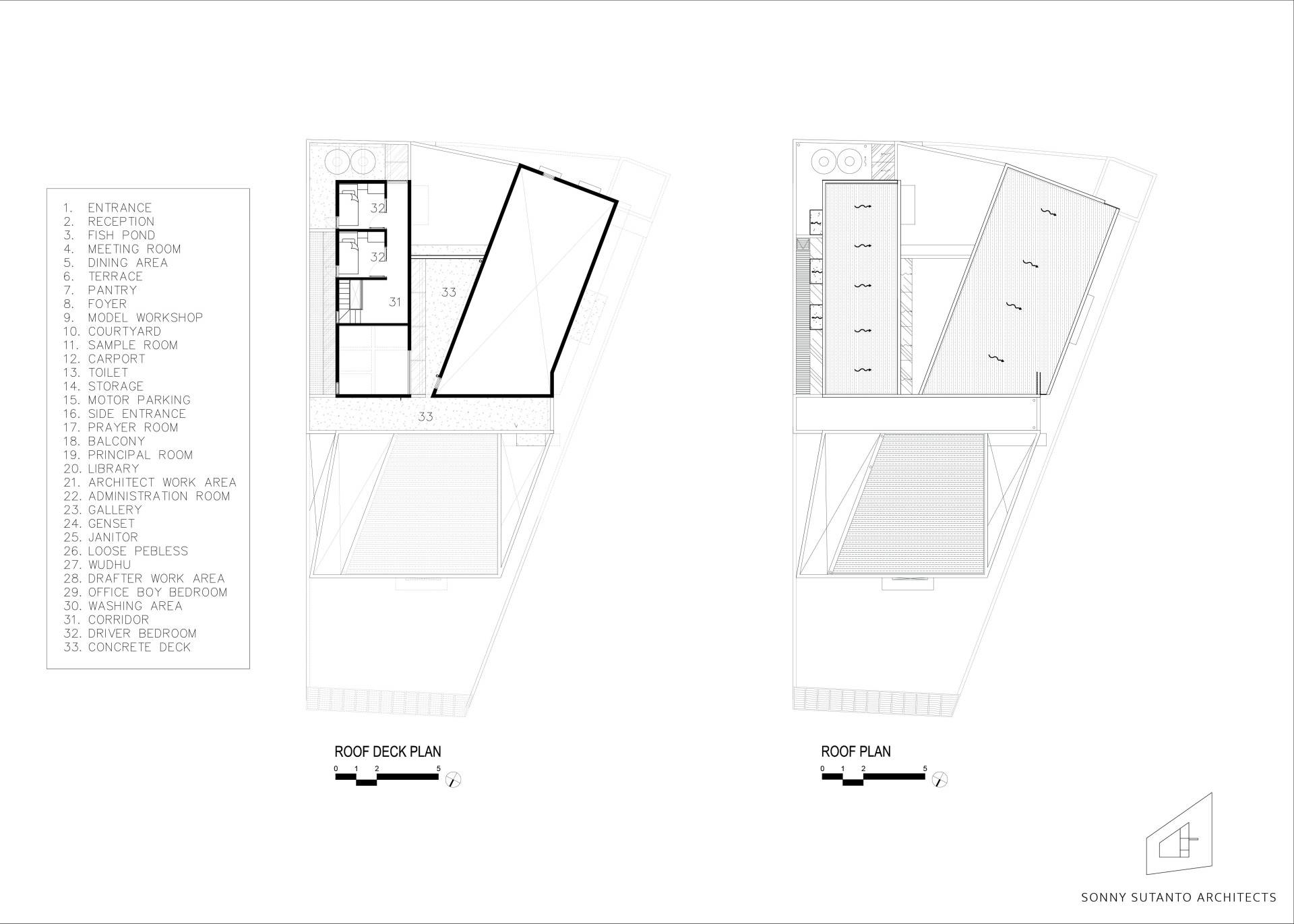 Sonny Sutanto Architects Sonny Sutanto Architects New Office Sunter, North Jakarta, Indonesia Sunter, North Jakarta, Indonesia Floorplan   2091