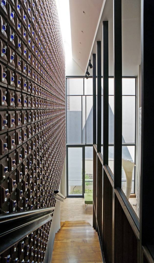 Sonny Sutanto Architects Sonny Sutanto Architects New Office Sunter, North Jakarta, Indonesia Sunter, North Jakarta, Indonesia Stairs   2113